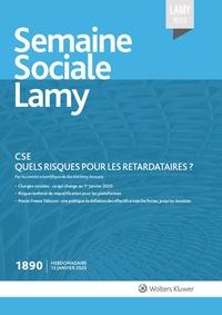Semaine sociale Lamy n° 1890